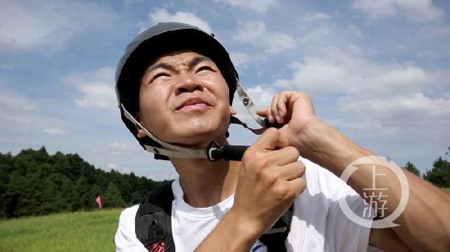 彭胜准备起飞